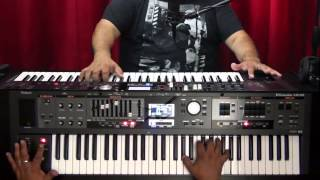 Organ Playing Techniques - the Smear and Rake - VR-09