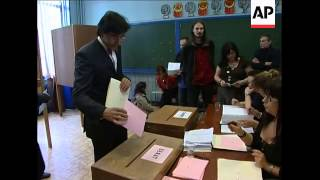 Voting, rival leaders cast ballots; ADDS polls close, official
