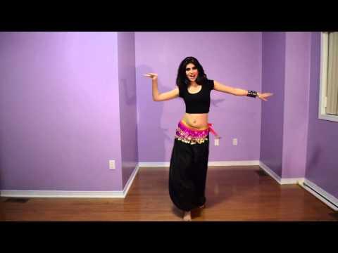 تعليم الرقص الهندي في دقيقة واحدة