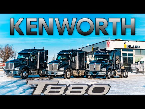 2021 Kenworth T880 52 and 76 inch Sleepers The Kenworth Guy