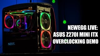 Newegg Studios: Live Streaming ASUS Z270 Motherboards and Overclocking and Q&A