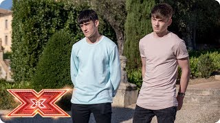 Simon's reveal: Jack & Joel and Sean & Conor Price are up next  | Judges' Houses | The X Factor 2017