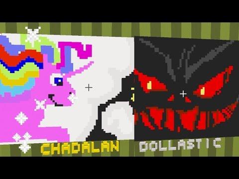 Minecraft / Dream Vs. Nightmare Pixel Painters / Dollastic Plays / Radiojh Games