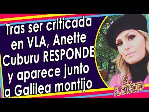 Anette Cuburu aparece muy feliz con la competencia Galilea Montijo de Hoy