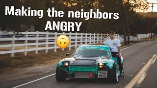 NEIGHBORS CALLED COPS ON DRIFTING RX7?!