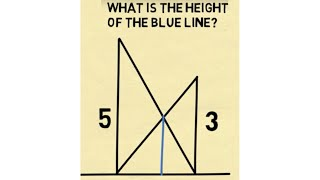 How Crossed Ladders And Working Together Problems Are Related - The Harmonic Mean