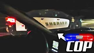 Street Racing With The SHERIFF?! Coolest Cop EVER!