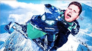 *TRIGGER WARNING* MOTO SNOW FUN! (Snow Moto Racing Freedom)