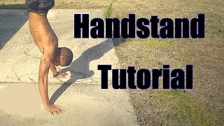 HOW TO | Handstand Tutorial | Tips
