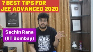 7 Best Tips | JEE Advanced, BITSAT 2020 | Preparation and Strategy