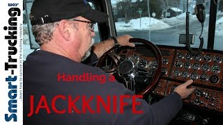 How to Handle a JackKnife - A Critical Professional Truck Driver Skill