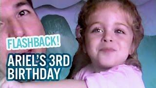 Flashback! Ariel's 3rd Birthday Celebration! | Baby Ariel, Jacob, Sharon, & Jose