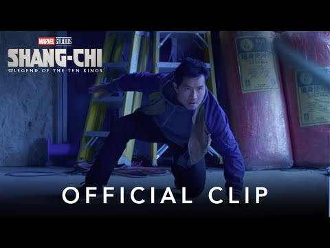 """""""He Has The Pendant Clip"""" Marvel Studios' Shang Chi and The Legend of The Ten Rings"""
