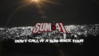 Sum 41 - Don't Call It A Sum Back Tour (VOL 1)