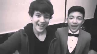 Darren and JK duet Love Yourself (01-12-2016)