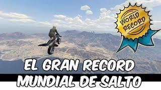 RECORD MUNDIAL DE SALTO! GTA V en Español - GOTH