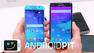Galaxy S6 vs Galaxy Note 4 : test comparatif complet