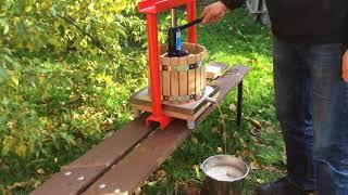 Hydraulic apple press GP-12 (Apple Press Ltd.) - grape press, wine press, cider press, fruit press