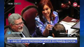 Canal 26 - Martín Liberman - Furor Por El Libro De Cristina Kirchner