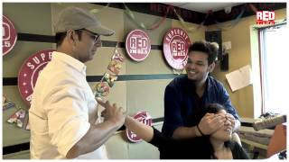 Akshay Kumar and Tamannaah playing pranks on RJ Malishka. Hilarious!