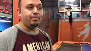 TRAMPOLINE PARK FUN! w/ Uncle Crusher, Anthony & Dingle Mommy! Bounce in the Foam Pit || VLOG