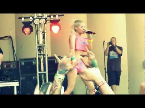 Xxx Mp4 Lollapalooza Die Antwoord Baby 39 S On Fire Live HD 3gp Sex