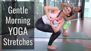 Gentle Morning Yoga Stretches to Start Your Day Right | HER Network