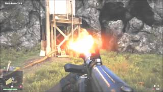 How to Burn Down the Poppie Field for Sabal in FAR CRY 4