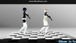 [MMD X KUROSHITSUJI] Umbrella Remix (flash warning)