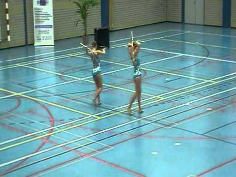 Xxx Mp4 Duo Twirling Senior Beginner Iris Opmeer Desiree De Ruiter 18 Juni 2011 Zwijndrecht PROMOTIE 3gp Sex