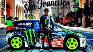 Ken Block San Francisco Drift - dubstep  (2013 1080p HD)