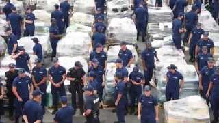 US Largest Drug Bust Nets 34 Tons Of Cocaine