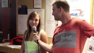 Capital One Celebrity Bonspiel - Peter Steski Interviews Rachel Homan