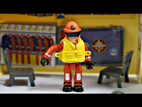 Fireman Sam Strażak Sam Ocean Rescue Station Stacja Ratownicza Simba 1663038