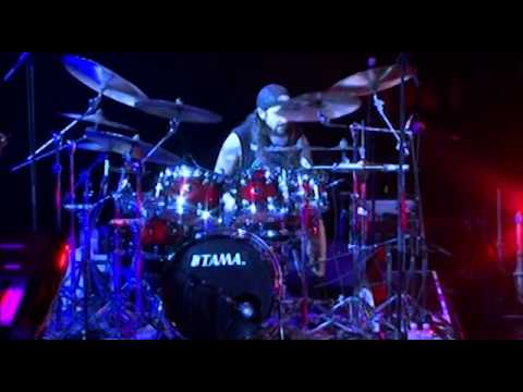 Mike Portnoy Short Drum Solo Bangkok 2012