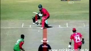 Bangladesh vs Zimbabwe 2009 4th ODI Highlights part 1