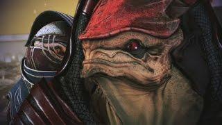 Mass Effect Trilogy: Urdnot Wrex All Scenes Complete(ME1, ME2, ME3)