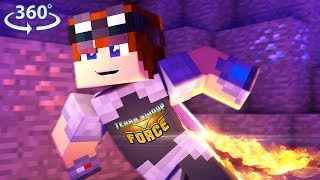 360° Terra Swoop Force - A Minecraft 360° Video #1