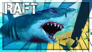 THE SHARK GETS ON MY RAFT!? (Raft)