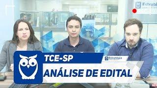 Concurso TCE-SP - Análise de Edital 2017
