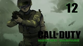 Call of Duty 4 Modern Warfare Remastered Campaign Walkthrough Part 12 - Sniper No Sniping
