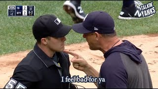 Aaron Boone gets ejected and gives a great rant, a breakdown