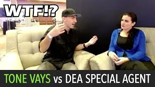 DEA Special Agent Silenced During Tone Vays Interview