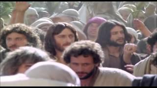 Jesus Entering Jerusalem on a Donkey