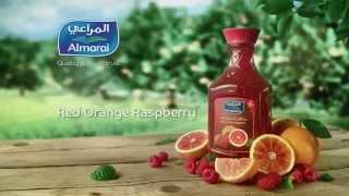 Red Orange & Raspberry