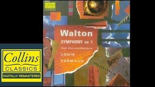 (FULL ALBUM) Walton - Symphony No.1 - Louis Fremaux - Philharmonia Orchestra