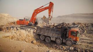 Scania Mining Site Optimisation