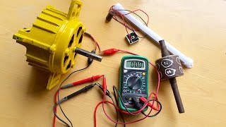 Free energy 220v from washing machine motor Part 2 is Revealed | Hints | DIY Homemade Dynamo.