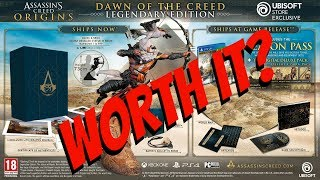 $800 Assassins Creed Origins Collectors Edition?! Is It Worth It?