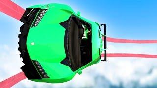 IMPOSSIBLE TIGHTROPE GTA WALLRIDE! (GTA 5 Funny Moments)